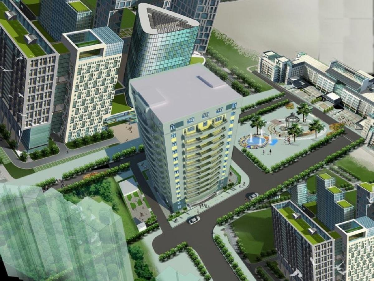 chung cư sài đồng lake view 3D