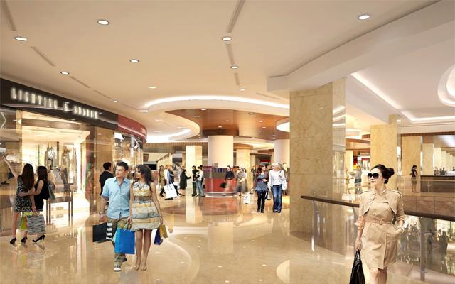 trung tâm mua sắm - Chung cư 317 trường chinh