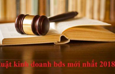 luật kinh doanh bđs mới