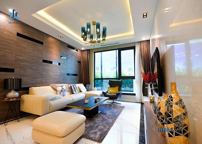 phòng khách chung cư sunshine sky park