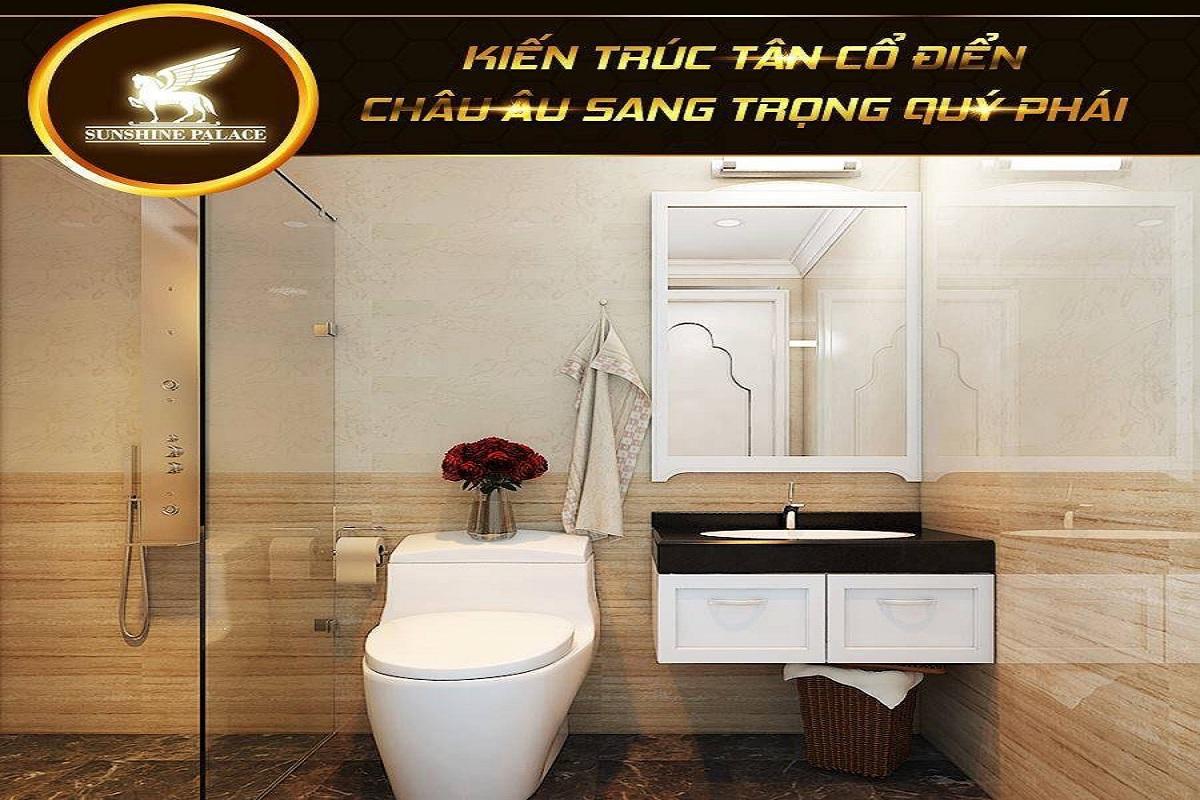 phòng tắm chung cư sunshine palace