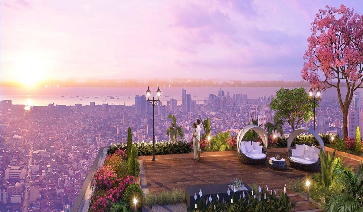 vườn ngắm sao imperia sky garden