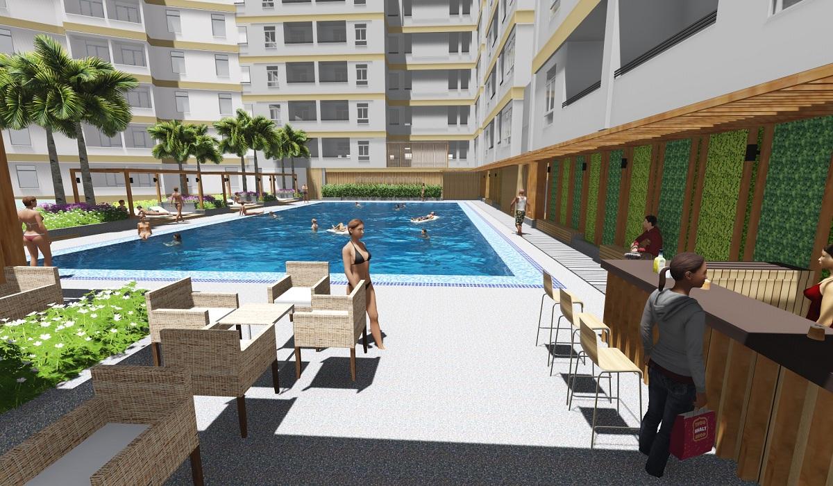 bể bơi dự án himlam